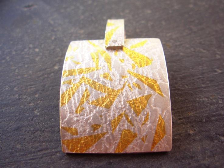 Kum boo silver pendant, by Taller Maranatha