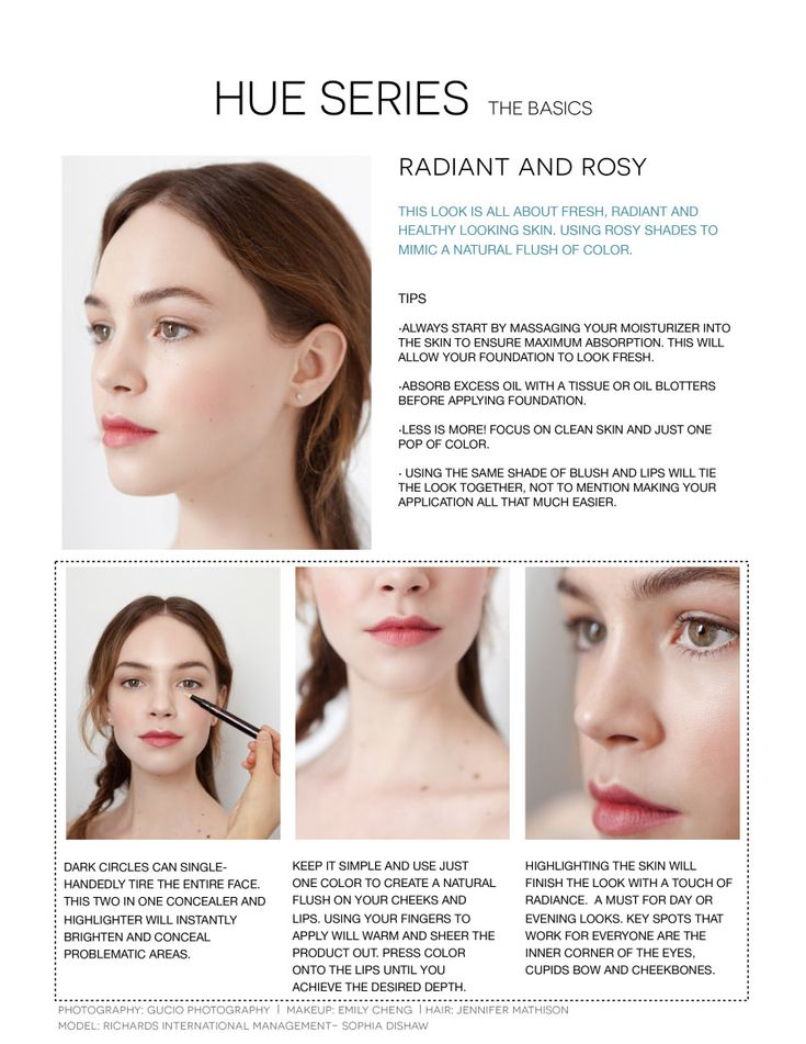 The Secret To A Radiant And Rosy Makeup Look