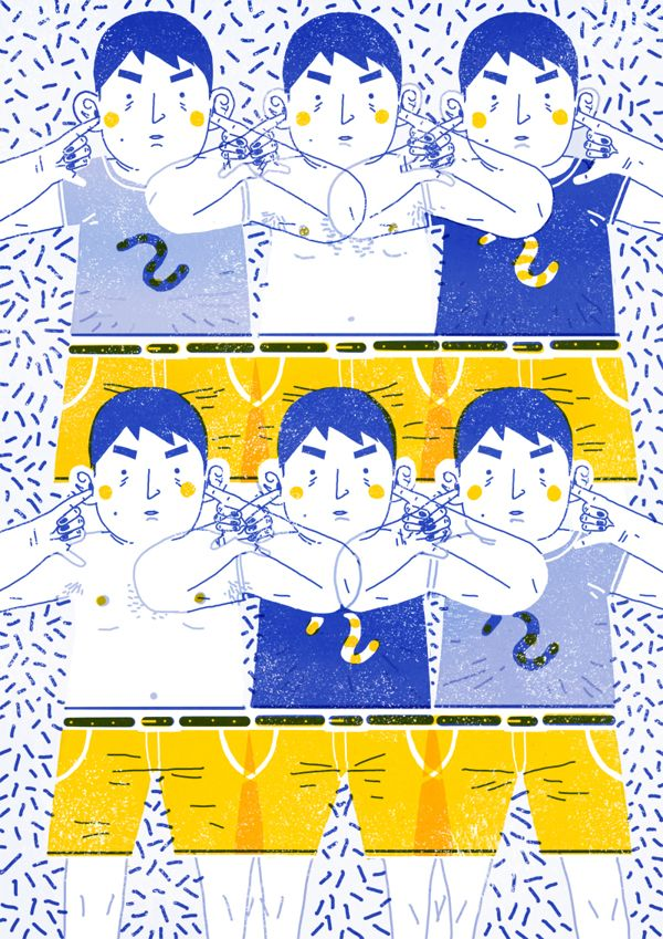 ABC by Lisk Feng, via Behance