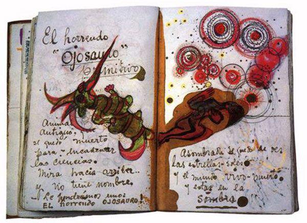 In Frida Kahlo's notebook...