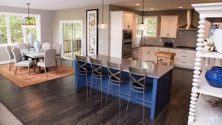 South Dakota Interior Design Comfortable Color Blue
