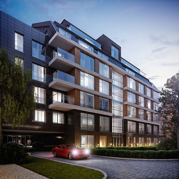 Residential buildings on Behance