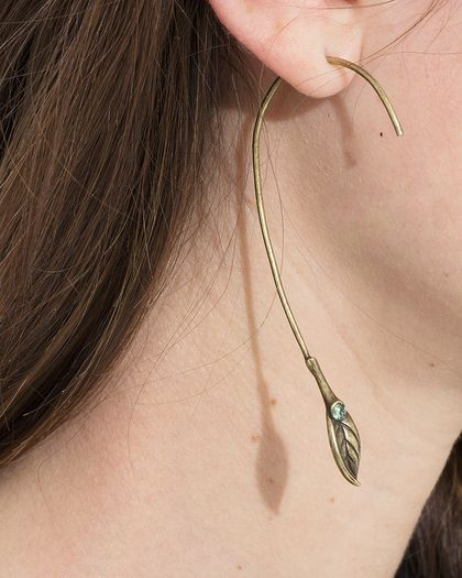 Fern Stone Earrings