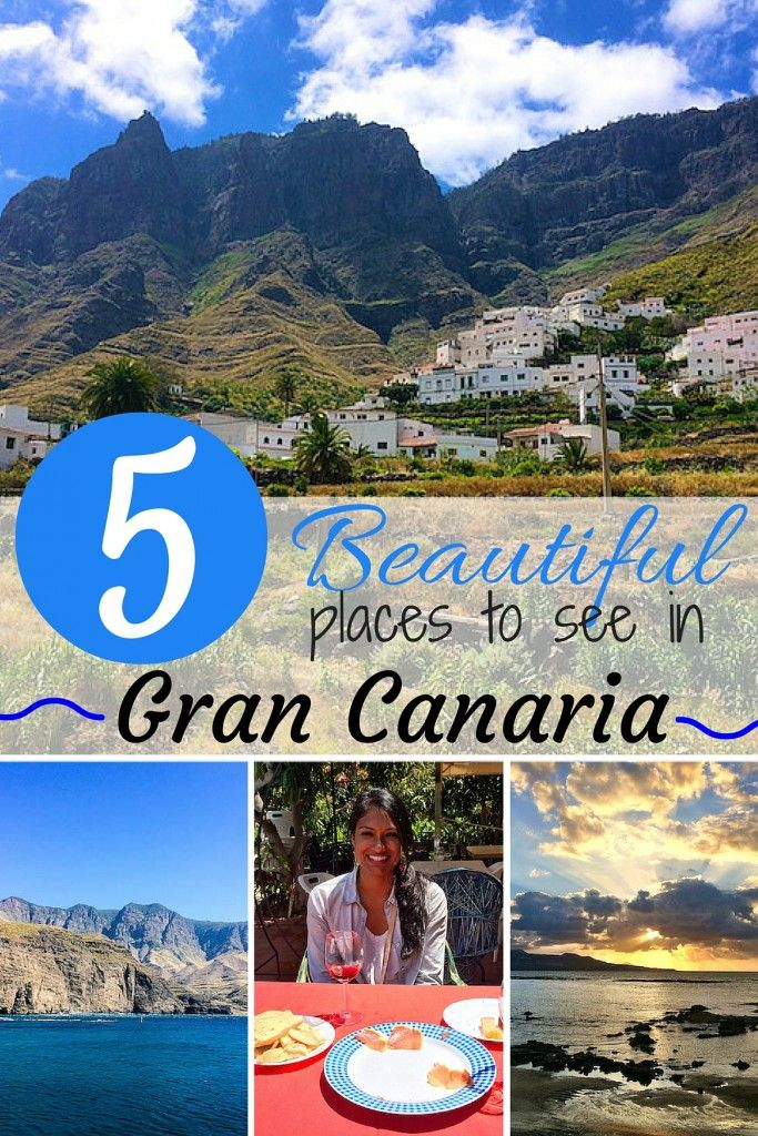I visited Gran Canaria in the Canary Islands, to see it's stunning sand dunes, hills, and yes, the beaches, too - it is an island, after all!