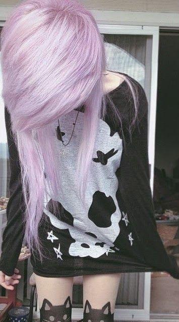 Cortes de pelo y peinados para chicas emo