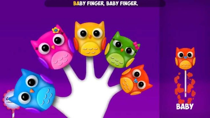 Owl Finger Family Song | Nursery Rhyme | Owl Cake Pop Finger Family Songs for kids