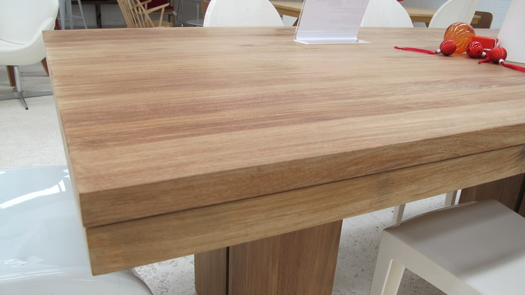 Ethnicraft Double Teak Dining Table #clickonfurniture