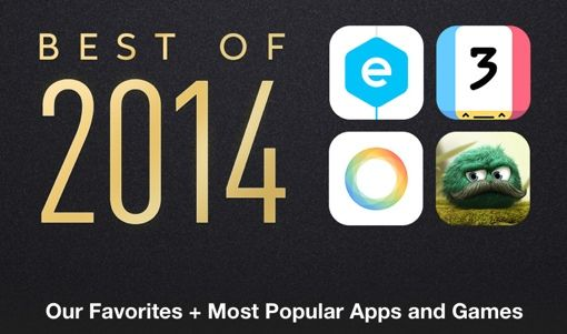Apple Names the Top Apps, Games, Movies of 2014 - Techlicious
