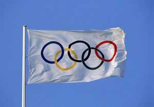 The Olympic flag was designed by Baron de Coubertin in 1913 and 1914.