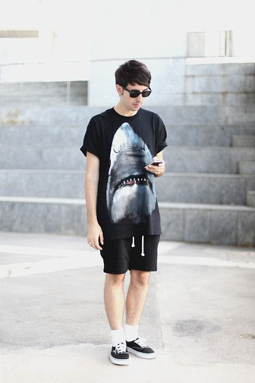 SHARK ATTACK (by Mike Madrid) http://lookbook.nu/look/3975348-SHARK-ATTACK