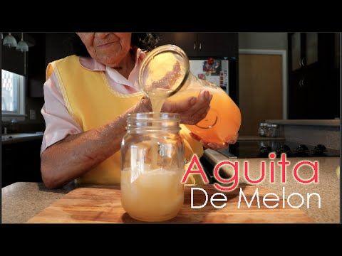 Aguita De Melon/ Cantaloupe Water (How To)