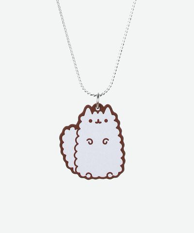 Stormy the Cat necklace - Hey Chickadee. AND IT'S ON SALE!!