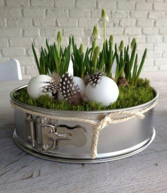 Fensterbank Deko – 40 stimmungsvolle Dekoideen zu Ostern