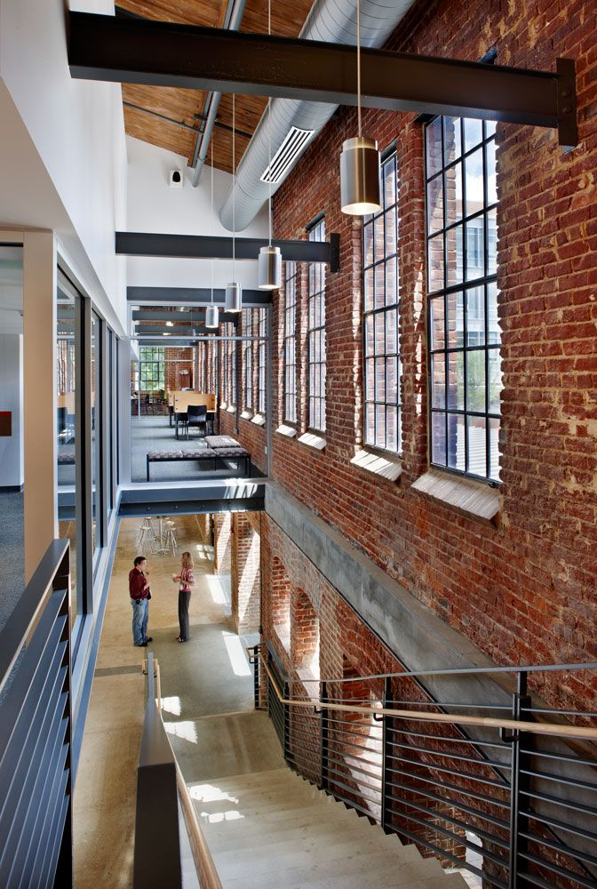 Park Shops Adaptive Reuse / Pearce Brinkley Cease Lee, Raleigh, Norht Carolina, USA