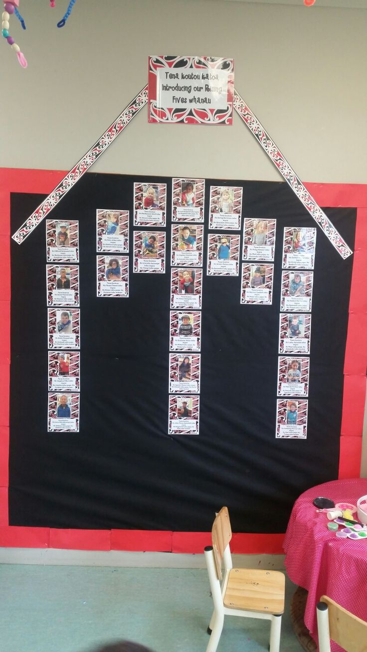 introducing our young children in Te Reo Maori. Marae inspired