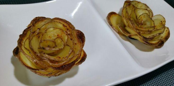 Roses de pomme de terre