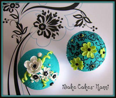Cupcake fondant tutorial by ibakecakes-manni
