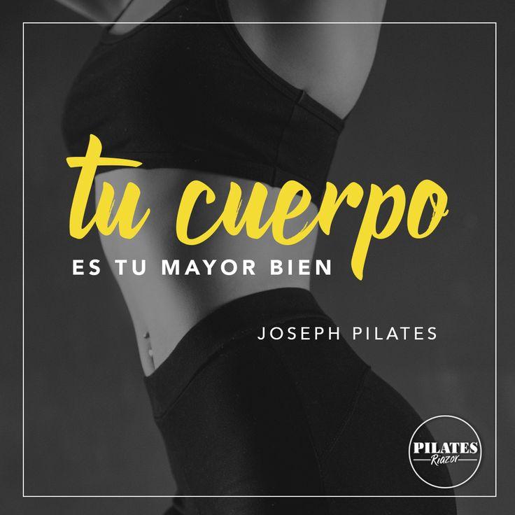 """Joseph Pilates decía: """"Su cuerpo es su mayor bien, el guarda y refleja su alma…. – Fitness anatomia , biomecanica del ejercicio y fisiologia"""