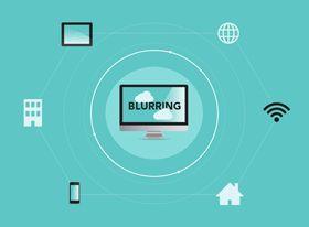 5 graphiques pour explorer le concept du « blurring »