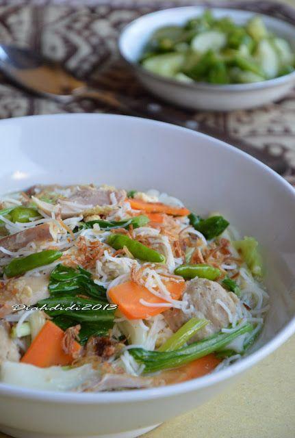 Diah Didi's Kitchen: Sarapan Yukkk...Bihun Godog Jawa...^^
