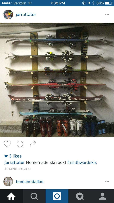 Ski storage