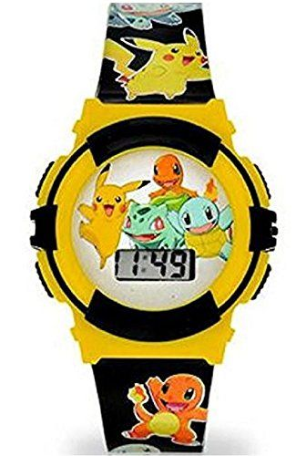 Nintendo Pokemon Pikachu Flashing Lights Kids LCD Watch – Pokemon Watch