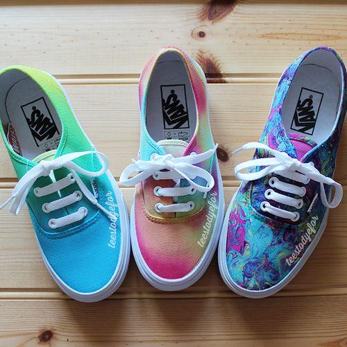 Shoes scarpe colorate color vans beautiful belle seguitemi ricambio