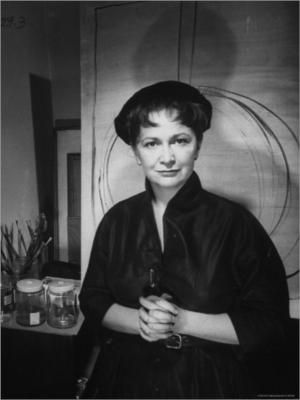 "Hedda Sterne (born Hedwig Lindenberg) was an artist best remembered as the only woman in a group of Abstract Expressionists known as ""The Irascibles"" which consisted of Jackson Pollock, Willem de Kooning, Barnett Newman, Mark Rothko, and others. Sterne was, in fact, the only woman photographed with the group by Nina Leen for Life magazine in 1950. In her artistic endavors she created a body of work known for exhibiting a stubborn independence from styles and trends, including Surrealism and…"