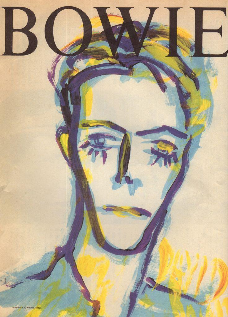 David Bowie by Hajime Anzai(安西肇 ソラミミスト)