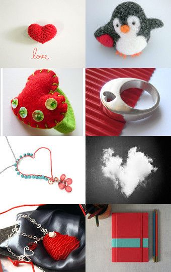 Lovelly Red by Ana Jerónimo on Etsy--Pinned+with+TreasuryPin.com