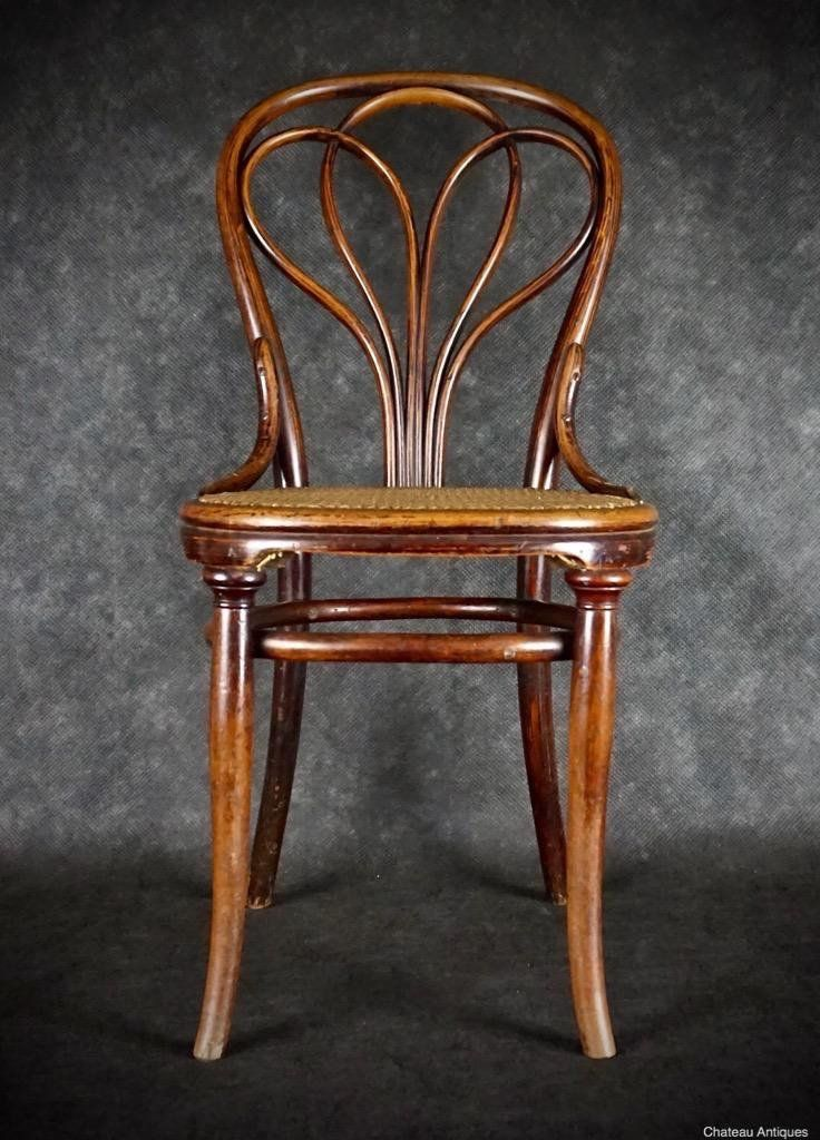 Thonet no. 25 chair ChateauAntiques.com
