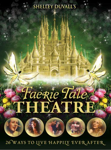 Shelley Duvall's Faerie Tale Theatre: The Complete Collection. This is a TV Series from 1982 with a lot of famous stars doing old fashion fairy tales like Cinderella, Beauty and the Beast, The Frog Prince and many more!!