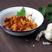 Poêlée de girolles - une recette Végétarien - Cuisine