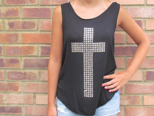 Cross Vests, £7.00