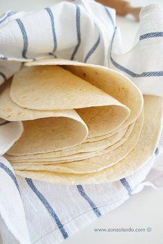 Tortillas messicane preparate in casa ricetta tradizionale - perfect tortillas recipe