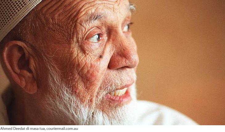 Syeikh Ahmed Deedat, guru Zakir Naik yang termasyhur