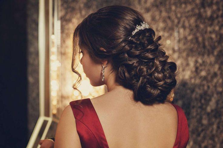 """Свадебные причёски : стиль """"Винтаж"""" фото : 12 идей 2017 года на Невеста.info"""