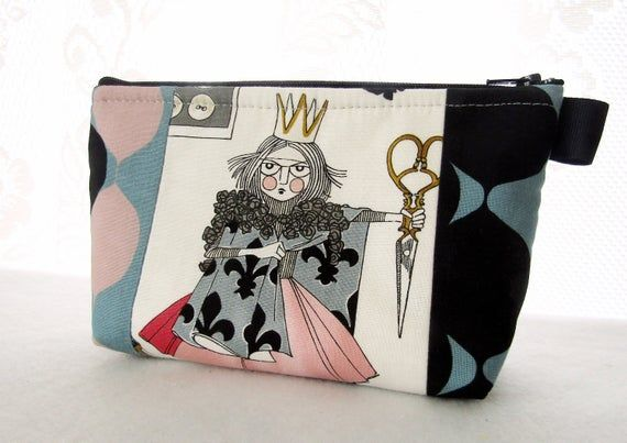 Cosmetic Bag Zipper Pouch