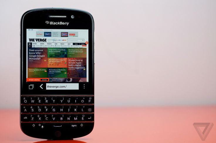 BlackBerry Q10 review | The Verge