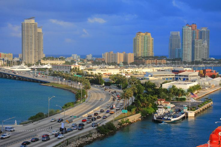 Miami - the city of beaches and architecture.