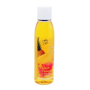 Hawaii Forever Florals 3-In-1 Bath Gel Shampoo Or Bubble Bath 4 Bottles Passion Pineapple