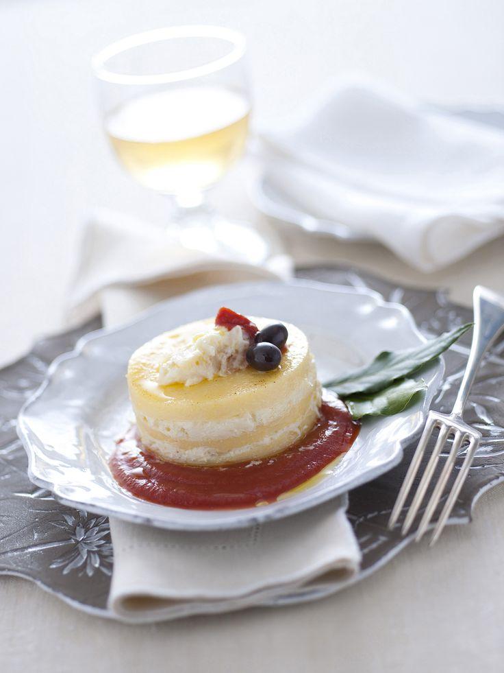 Scopri come realizzare delle gustose lasagnette con un cuore di baccalà e polenta. Perfette per il pranzo di Natale. Leggi la ricetta di Sale&Pepe.