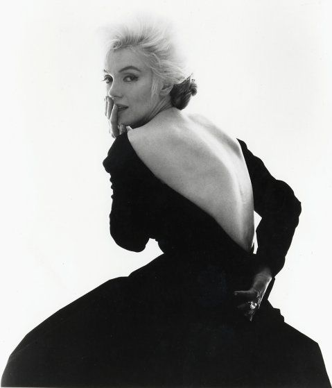 <b>Bert Stern, 1929 - 2013</b> <br> <br> <i>Marilyn Monroe, Vogue, Back, 1962.</i>