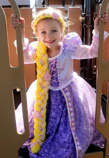 Карнавальные костюмы для детей рапунцель