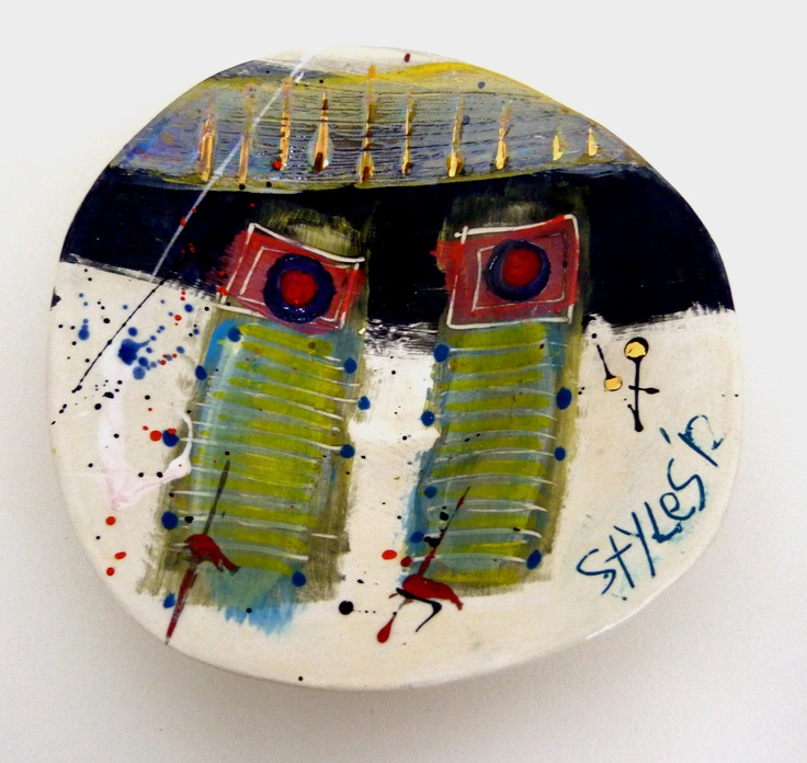 Linda Styles Little dish. Ceramic ... & 191 best Linda styles images on Pinterest | Ceramic art Ceramics ...