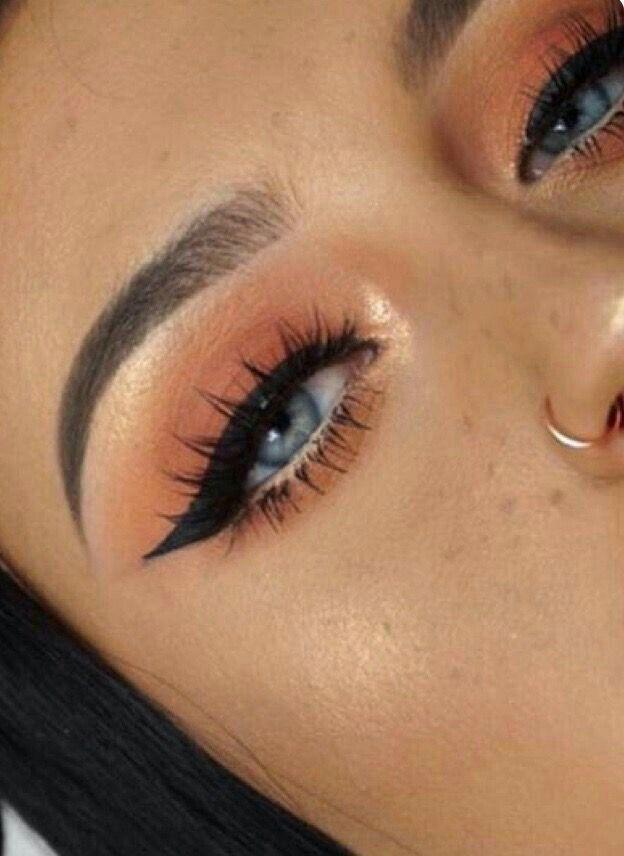 Emma Chamberlain and James Charles YouTube makeup tutorial closeup
