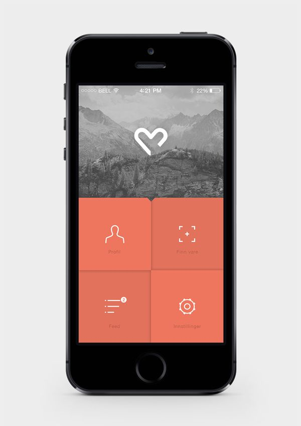 Sensum // Application Design on App Design Served