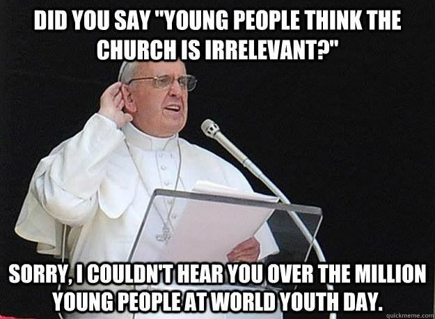 World Youth Day Pope Francis brings message to have inter-generational dialog in our families