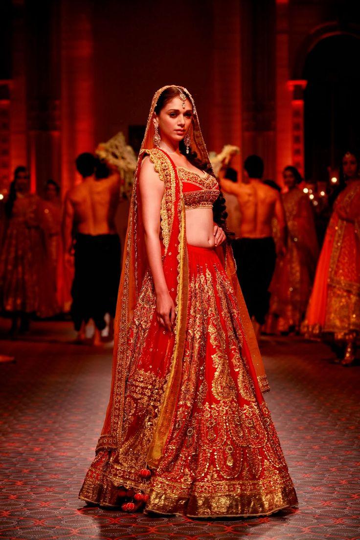 """Aditi Rao Hydari for http://www.PreetiSKapoor.com/ """"ROYAL INDIA"""" Bridal Collection at IBFW, 2013"""