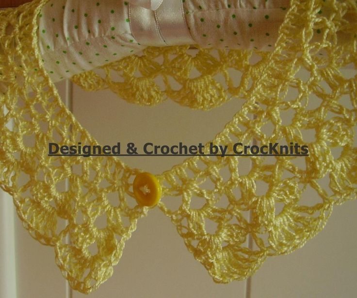 115 best Crochet collar pattern - Cuellos de ganchillo patrones ...